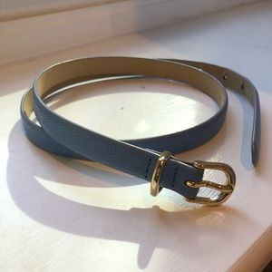JCrew Skinny Belt - Embossed Leather S